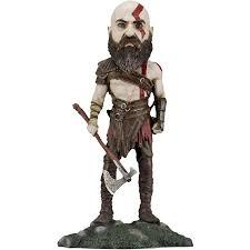 <b>Neca 2018 God</b> of War Kratos Resin Head Knocker Bobble Head ...