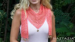 DIY Tutorial - How to Crochet The V <b>Scarf</b> - VScarf - V-<b>Scarf</b> - YouTube