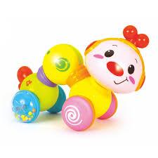 HOLA TOYS <b>Развивающая игрушка</b> интерактивная <b>ГУСЕНИЧКА</b> ...