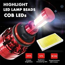 4-side <b>H4 H7 H11</b> 9005 9006 LED Headlight Kit 80W 28000LM Hi ...