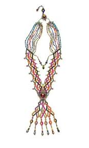 Multi-Strand <b>Necklace</b> with <b>Seed Beads</b> and Swarovski® Crystal ...