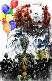 best images about pennywise devil digital art pennywise the dancing clown by devin francisco