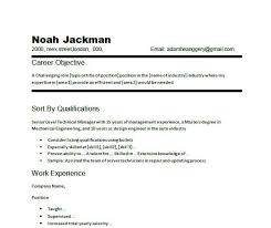 Resume Objective Examples Customer Service Manager  job resume