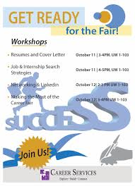 fall job and internship fair past events events career think you know what employers want check to make sure
