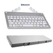 <b>Landas</b> Mini Pocket Folding Keyboard With Stand Hidden For ...