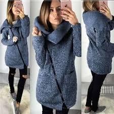 Autumn <b>Winter</b> Warm <b>Fleece Turn</b>-down Collar Sweatshirt Hoodie ...