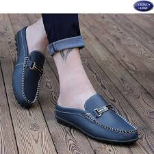 <b>2016 Spring</b> And Summer Casual Single <b>Leather</b> Shoes Men,Half ...