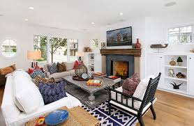 attractive sofas with cushions also chic table and fireplace for antique living room ideas attractive living rooms