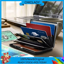 <b>wholesale</b>  Pocket <b>Case</b> Money Clip Men <b>Wallet Anti</b>-<b>RFID</b> Stainless ...