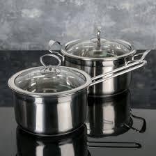 <b>Набор посуды 2 предмета</b>: ковш 20х11 см , кастрюля 22х12 см ...