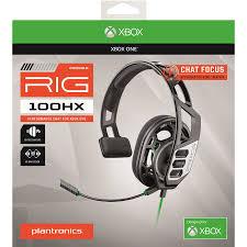 Xbox One Platronics <b>Rig 100HX</b> Wired Gaming Headset | Xbox One ...