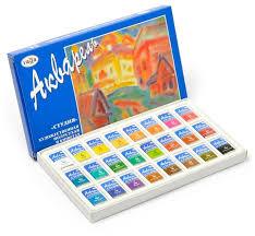 <b>ГАММА Акварельные краски</b> художественные Студия 24 цвета, в ...