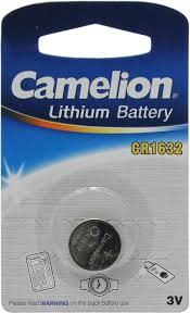 <b>Батарейка CR1632</b> литиевая <b>Camelion CR1632</b> 3V 1 шт