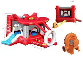 Детский <b>надувной Батут</b> Самолетик <b>HAPPY HOP</b> 9237 купить в ...