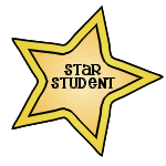 Image result for star student of the week clip art