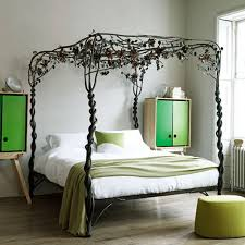 awesome best of cool designs for bedroom walls ideas painting with unique black metal canopy bed black white bedroom awesome