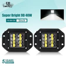 "<b>CO LIGHT</b> Super Bright <b>9D 80W</b> Led Work <b>Light</b> 12V 5"" Flood ..."