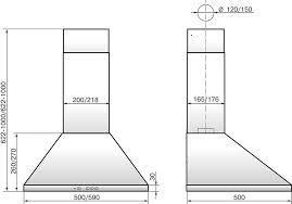 Купить <b>Вытяжка</b> каминная <b>Elikor Вента 60П</b>-<b>650</b>-<b>К3Д</b> белый ...