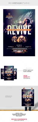 17 best images about flyer ideas psd flyer revive conference church flyer