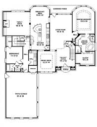 Bedroom Story House Plans   Lcxzz com Bedroom Story House Plans Style Home Design Wonderful