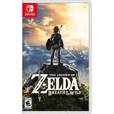 <b>The Legend of Zelda</b>: Breath of the Wild Nintendo Switch ...