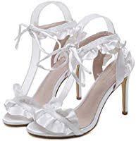 <b>Women's</b> High Heels, Fashion Lace Tie Stiletto <b>Sandals</b>, <b>Fish</b> ...