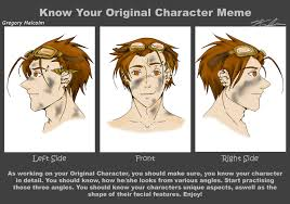 Know Your Original Character Meme- Gregory Malcolm by lpsc00l on ... via Relatably.com
