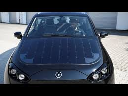 Solar panel car to go on sale in 2019 - YouTube