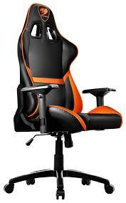 <b>Кресло компьютерное</b> игровое <b>Cougar Armor</b> Оранжевый Черный