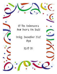Second Life Marketplace - New Year's Party Invitation Sample