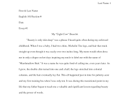 Chicago Style Writing Template  chicago style writing template