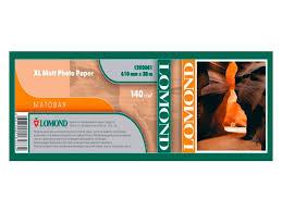 <b>Рулонная бумага Lomond XL</b> 610x50mm 30m 140g m2 Матовая ...