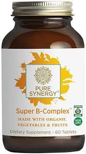 Pure Synergy Super B-Complex (60 Tablets) B ... - Amazon.com