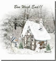 """Résultat de recherche d'images pour """"gif bon week end avec neige"""""""