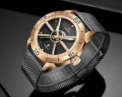 <b>NAVIFORCE Men's</b> Luxury automatic date <b>watch</b> Casual analog ...
