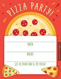pizza party invitation template com pizza party invitation template for additional fetching party design 2111617