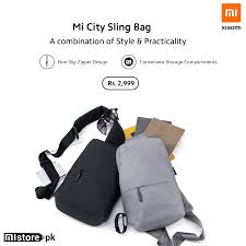 Mistore.pk - <b>Mi City Sling bag</b> offers a combination of style and ...