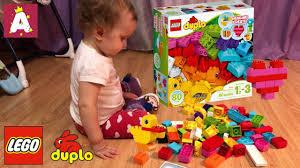 <b>Конструктор LEGO DUPLO Мои</b> первые кубики 10848 обзор и ...