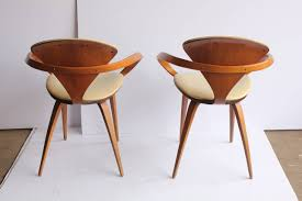 1950s pretzel chairs by norman cherner 4 cherner furniture