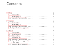 Example Table Of Contents With Appendices   Table hispurposeinme com loralei hermine   Hispurposeinme com