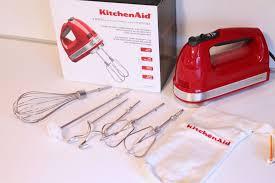 Kitchen Aid Appliances Reviews Review Kitchenaid 9 Speed Hand Mixer Faith Food Family Fun