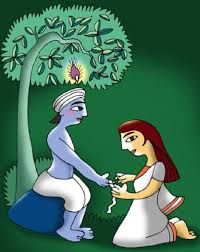 Image result for krishna and draupadi images