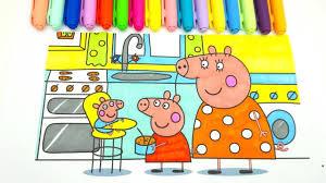 <b>Свинка Пеппа раскраска</b> из мультика - YouTube