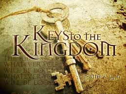 to the kingdom of heaven keys to the kingdom of heaven