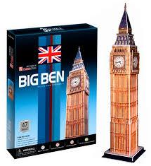Купить <b>Cubic Fun Биг бен</b> (Великобритания) в Москве: цена Cubic ...