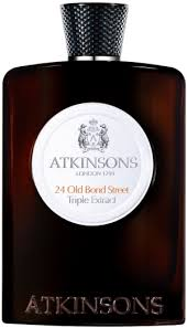 <b>Atkinsons 24 Old Bond</b> Street Triple Extract Eau de Cologne 100ml ...