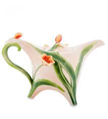 <b>Заварочный чайник</b> ''Тюльпаны'' (<b>Pavone</b>)