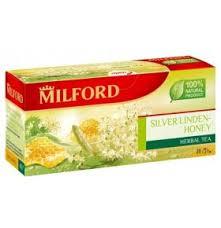 <b>Чайный напиток</b> травяной <b>Silver</b> linden-honey в пакетиках <b>Milford</b> ...