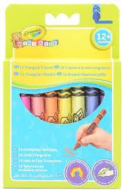 Crayola <b>Восковые мелки смываемые</b> для малышей 16 цветов 52 ...
