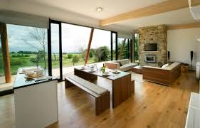 Open Kitchen And Dining Room Designs Coastal Open Plan Kitchen Kitchen Designs Open Plan Designs Comfoy